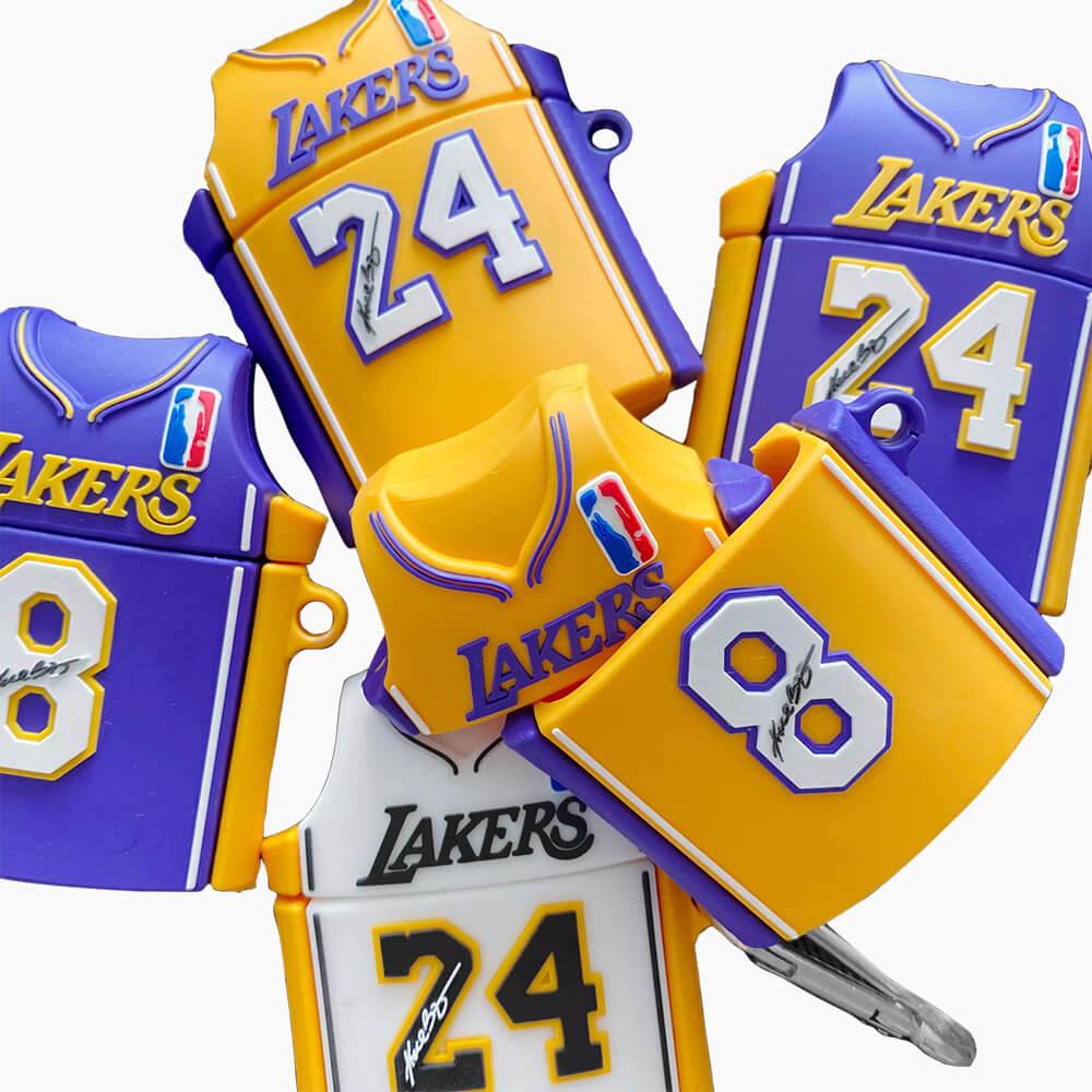 Kobe Bryant #24 LA Lakers Jersey Signature Apple AirPod Case